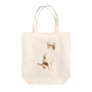 三毛猫 Tote Bag