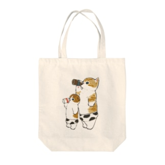 Milkにゃん Tote bags