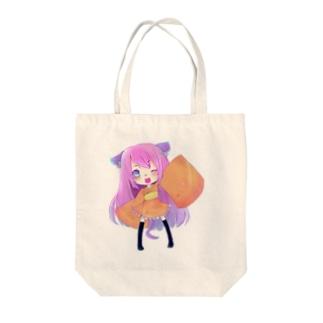 sakuraちゃん Tote bags