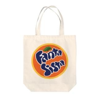 パロディ  ファンタジスタ Tote bags
