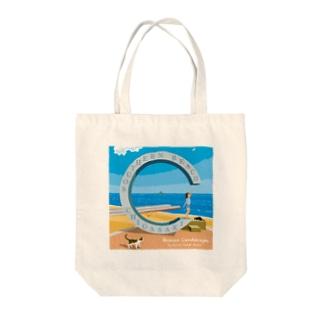 湘南デザイン室:Negishi Shigenoriの湘南ランドスケープ06: 届くかな...サザン C Tote bags