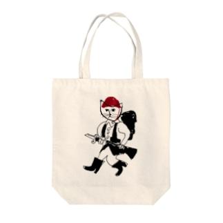 兵隊 Tote bags