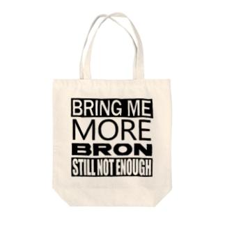ブリング・ミー・ブロン Tote bags