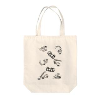 はたらくくるま(codycoby) Tote bags