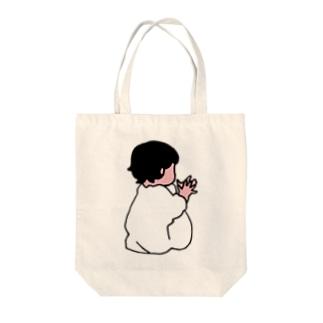 おてて Tote bags