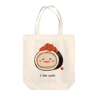巻き寿司ベニコさん Tote bags