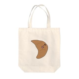 クロワっさん Tote bags