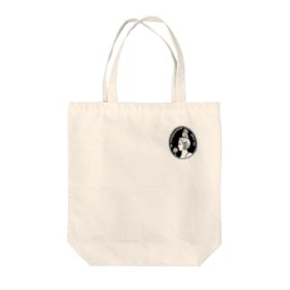 Cameo (black) Tote bags
