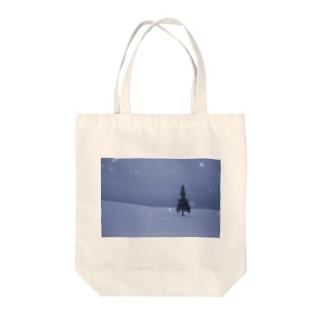 クリスマスツリーの木グッズ Tote bags