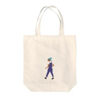 通行人1 Tote bags