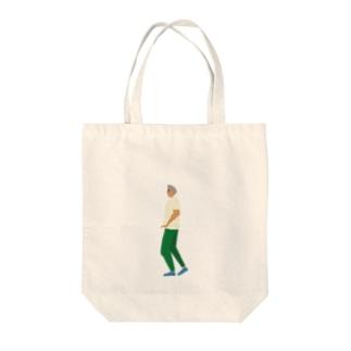 通行人6 Tote bags