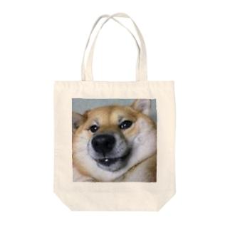 しばかず Tote bags