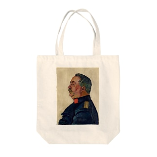 Portrait of General Ulrich Wille Tote bags