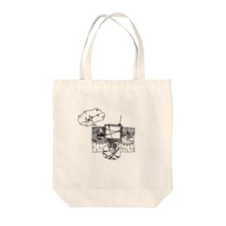 コワレテモ Tote bags