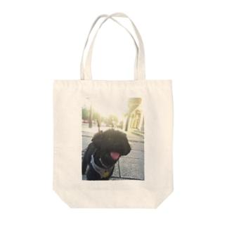 うちの犬 Tote bags