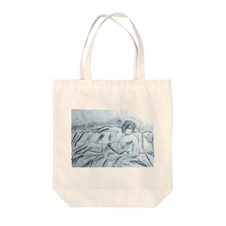 アース Tote bags