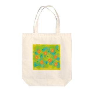 花のある日々 Tote bags