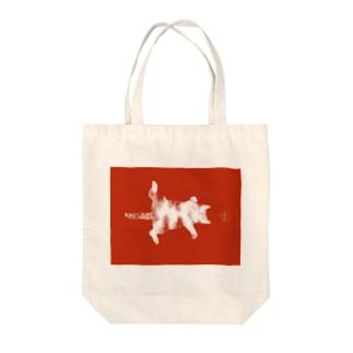 スリーピングキャット Tote bags