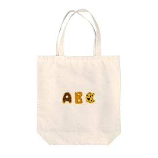 おやつABC Tote bags
