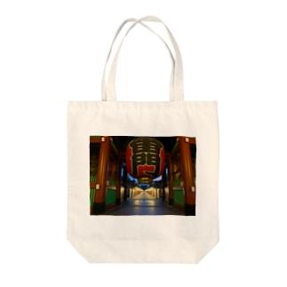 浅草雷門-東京 Tote bags