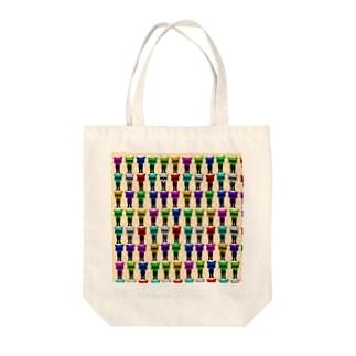 カラフルコレン🐺 Tote bags