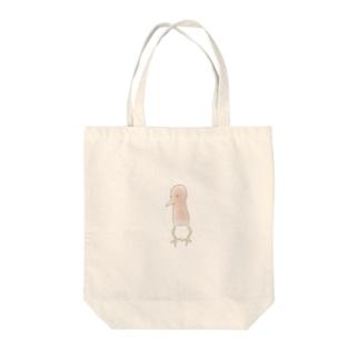 噂のヨシゴイ Tote bags