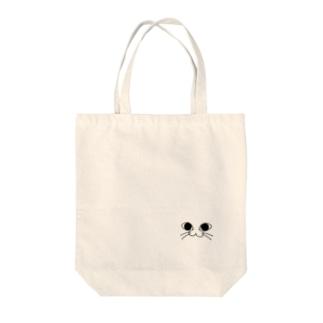 にゃんこふぇいす /猫 Tote bags