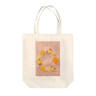 とりさん楽団 Tote bags