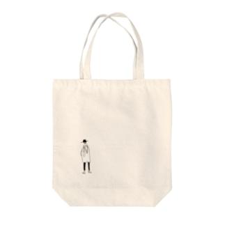 ハイカラ兄さん Tote bags