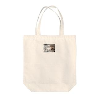 パタパタ耳のジンジャー  Tote bags