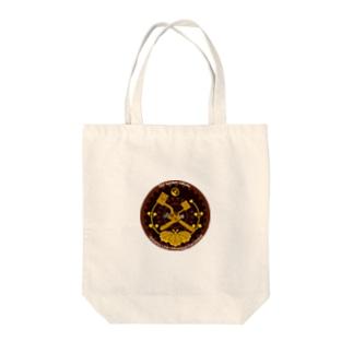 ブレーキハンドルワッペン風(アプト式バージョン) Tote bags