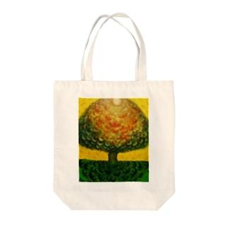 太陽の木 Tote bags