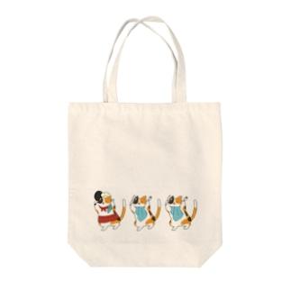 腹ペコネコ Tote Bag