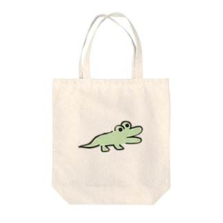 DHKN7 わに Tote bags