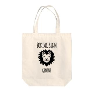 マイルドな獅子 Tote bags