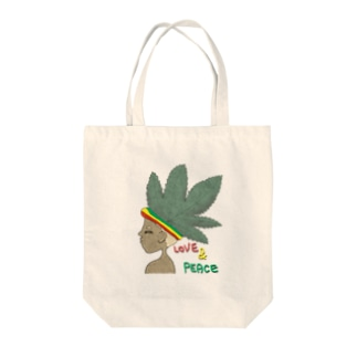 レゲエカラー Tote bags