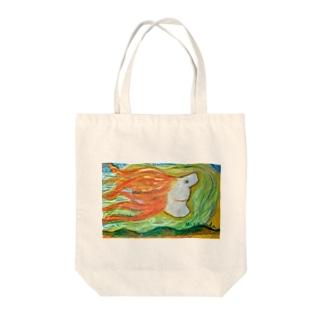 ハワイのマカニ Tote bags
