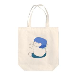 ひっつくぼく Tote bags