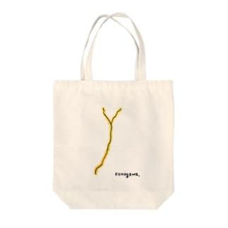 kamogawa. Tote bags