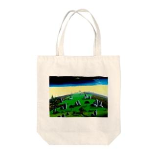 奇岩の丘 Tote bags