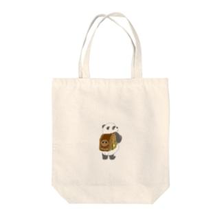 ぱんどせるくん Tote bags