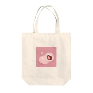 #トウメイの隣人/いちご大福 Tote bags