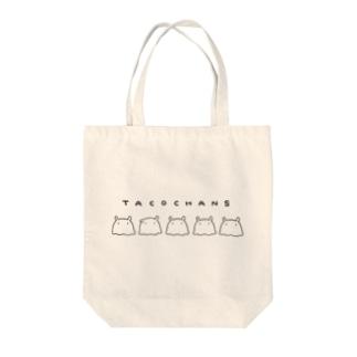 たこちゃんずトート Tote bags