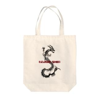 Dragon SHOPロゴ Tote bags