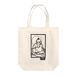 極道ハシビロコウ02 Tote bags