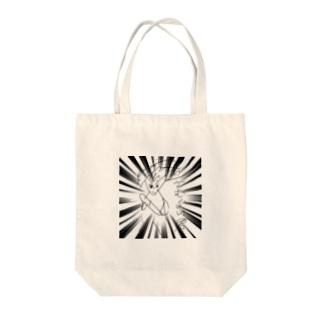 万喜作「さむらい君」 Tote bags