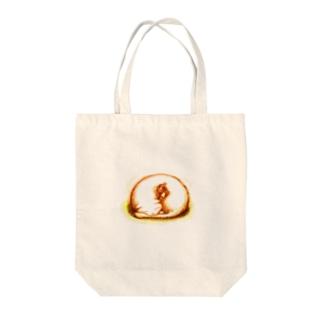 エイミーと猫のお父さん04 Tote bags