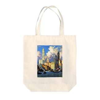コリン・キャンベル・クーパー 《ハドソン河畔》 Tote bags