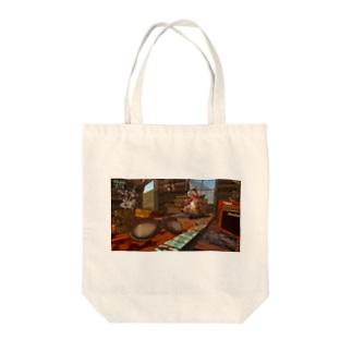ジェットログキャビン_B Tote bags