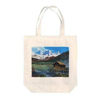 幻想・ヒマラヤ Tote bags